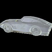 SALE A Daum crystal glass model of a Ferrari 275 GTB paperweight, 1985 - 1995.