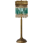 SALE A brass table lamp, 1930c.