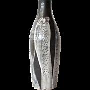 SALE A Gustav Spörri, Swiss,  signed ceramic vase, 1961.