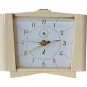 SALE A JAZ ,French ,early vintage bakelite alarm clock.