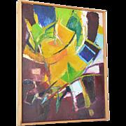 """SALE Roberto Lauro ( 1932 - ), Swiss Artist, """" Bewegung des Lichtes"""" ( Motion of Lig"""
