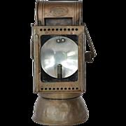 SALE Carbide lamp, railway,  Friemann & Wolf, early 1900s.