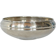 SALE Vintage Christian Dior silver plated bowl, 20th century.