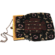 REDUCED Victorian Beaded Bag
