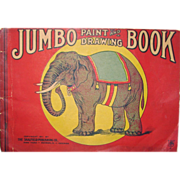 REDUCED Antique JUMBO Paint & Coloring Book – 1911
