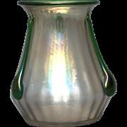 Bohemian Art  Glass Vase - Kralik
