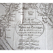 Map of the Medes and Persians by D'Anville - 1799