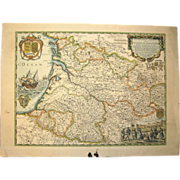 Ancient Map of Guyenne & Guascogne – 1650 – N. Sanson