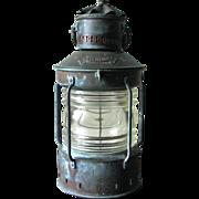 SOLD Vintage Copper Anchor Lamp – Circa 1930