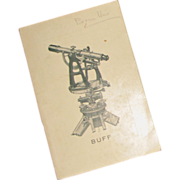 Vintage Buff & Buff Mfg. Co. Catalog of Surveying Instruments