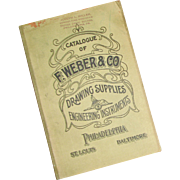 Ca 1920 - Vintage Catalogue – F. Weber & Co., Philadelphia