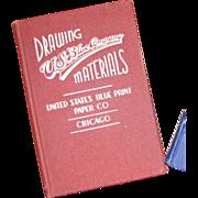 U.S. Blue Print Paper Co, Chicago 1939 - Vintage Hardcover Catalogue w/ Price List
