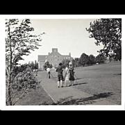 Antique Photo of Lady Surveyors, Washington State University – Circa 1930
