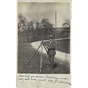 Germany - Surveyor – Vintage Real Photo Post Card – 1923