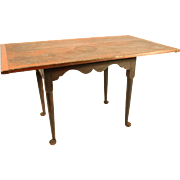 18th Century New England Drop-Leaf Tavern Table