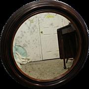 Antique Round Wall Mirror