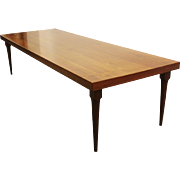 Mid Century Danish Modern Walnut Coffee Table