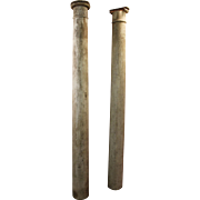 Pair of Vintage 1930s Architectural Salvage Columns