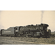 NYC RR Steam Engine Locomotive #2385 at SCHENECTADY, NY. Photo is 5 3/8 X ...