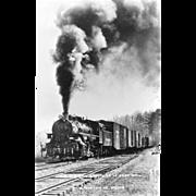VIRGINIA BLUE RIDGE RR Steam Engine Locomotive at ROSE MILL, VA. Photo is 5 3 ...