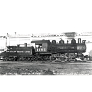 Railroad RR Photo Southern Pacific Steam Engine #1185, RPPC, UNPOSTED