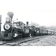 Sierra RR Railroad Locomotive Engine #3 Used for Movie and TV Train Scenes, RPPC Excellent ...
