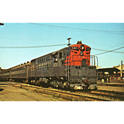 SOUTHERN PACIFIC Diesel Engine #3030. Photo IS 5 3/8 X 3 1/2 IN ...