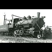 YOSEMITE VALLEY RR Steam Engine #25. Photo is 5 3/8 X 3 1/2 ...