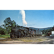 Boston & Maine Railroad RR Steam Engine #3700. Photo is 5 3/8 X 3 1 ...