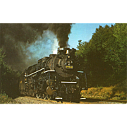 Nickel Plate Railroad RR Steam Engine #759. Photo is 5 3/8 X 3 1 ...