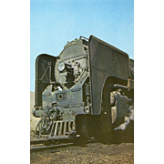 NYC New York Central Railroad RR Steam Engine #3149. Photo is 5 3/8 X ...
