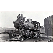 NYO&W 5 1/4 X 3 1/4 IN. BLACK & WHITE Original Photo Train ...
