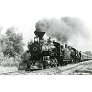 Photo Southern Pacific Railroad RR Steam Locomotive #2248. Excellent Condition  RPPC