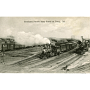 Late 1800'S SOUTHERN PACIFIC STEAM ENGINE #29 at Tracy, CA. Photo is 5 3 ...