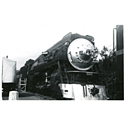 SOUTHERN PACIFIC RR Steam Locomotive Engine # 4460 RPPC Excellent Condition, Unposted
