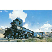 UNION PACIFIC RR Steam Engine at Echo UT. Photo IS 5 3/8 X 3 ...