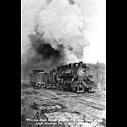 VIRGINIA BLUE RIDGE RR Steam Engine Locomotive near Piney River , VA. Bridge. Photo is 5 ...