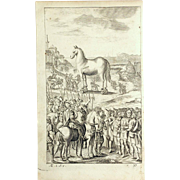 """1716 """"THE WORKS OF VIRGIL"""" in English Verse by Mr Dryden, VOL. III.  Woodcut Engravi"""