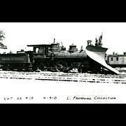 Virginia & Truckee Railroad RR Steam Engine #18. Photo is 5 3/8 X 3 1 ...
