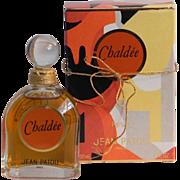 Rare Sealed Chaldee Pure Parfum Jean Patou Signed Guy de Mouy Paris Vintage Perfume