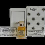 New Fleurs de Rocaille Pure Parfum Extrait 7ml Caron Paris Presentation Box Vintage Perfume