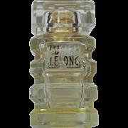 Very Rare Lucien Lelong Mon Image EMPTY Parfum Tiered Bottle France Vintage Perfume