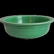 "Vintage Fiesta Ware 8 & 1/2"" Nappy Bowl Original Green Homer Laughlin HLC"