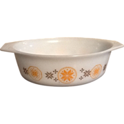 Pyrex Town and Country Oval Casserole Dish