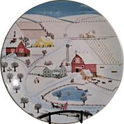 Royal Doulton Sleigh Bells Limited Edition bone china plate