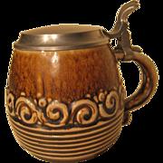 Reinhold Merkelbach salt glazed stoneware tankard