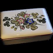 Pembroke Wedgwood Corinthian vintage jewellery box
