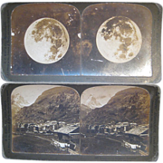 Set of 9 Stereoview cards - Group 3