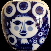Mid Century Rosenthal Wiinblad Face Vase