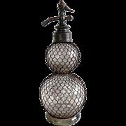 Antique French Siphon Bottle by Mondollot et de Monner